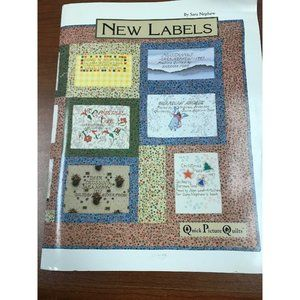 NEW LABELS Quick Picture Quilts Patterns Book